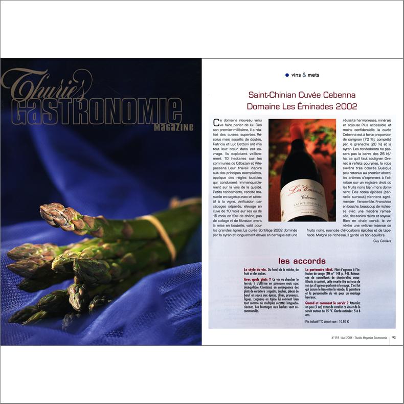Thuries magazine-2004