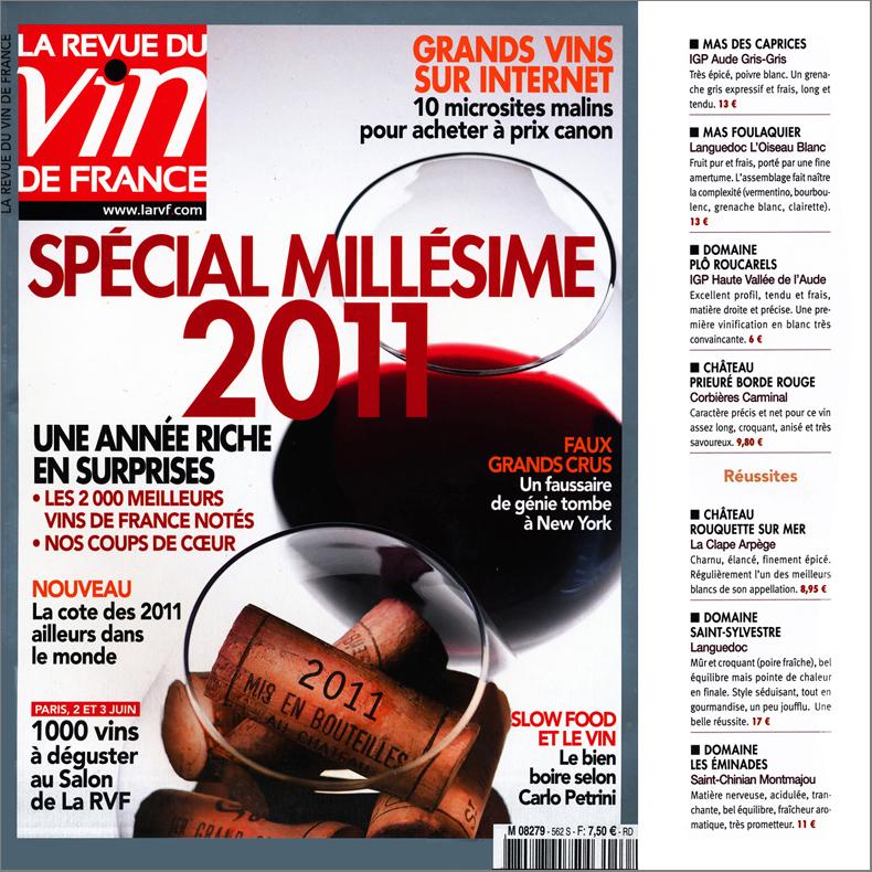 la revue du vin de france juin 2012